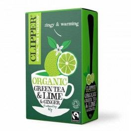 Green Tea with Lime & Ginger
